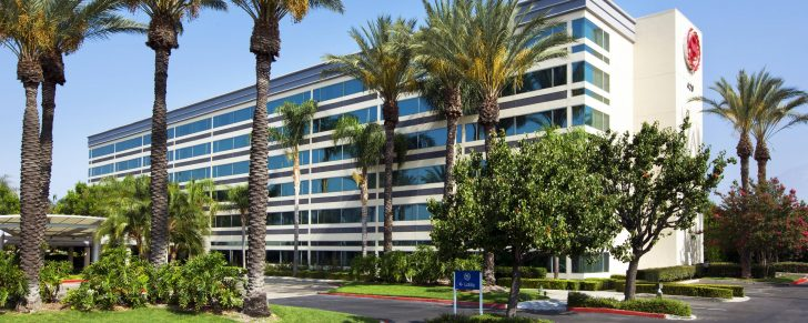 Spg Hotels California Map