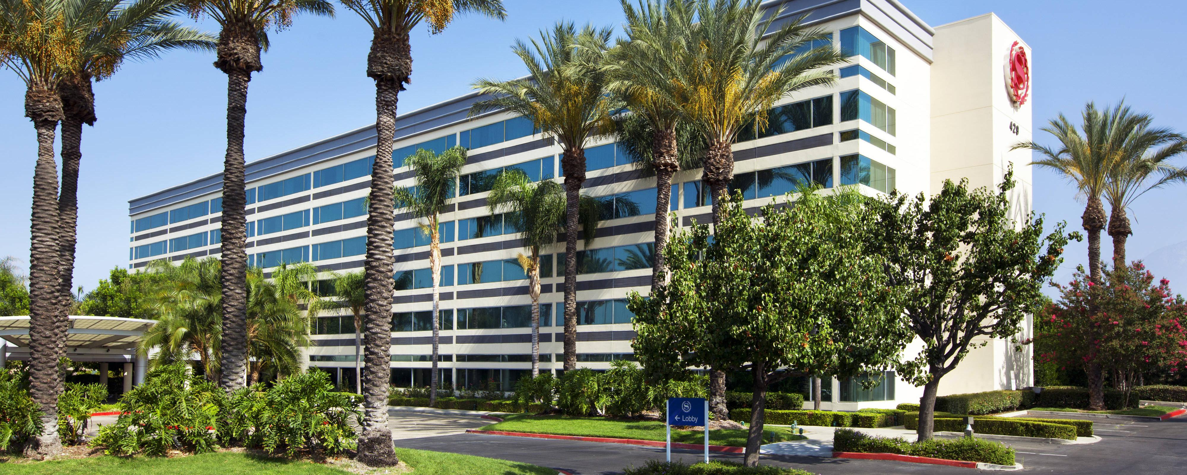 Hotel In Ontario | Sheraton Ontario Airport Hotel - Spg Hotels California Map