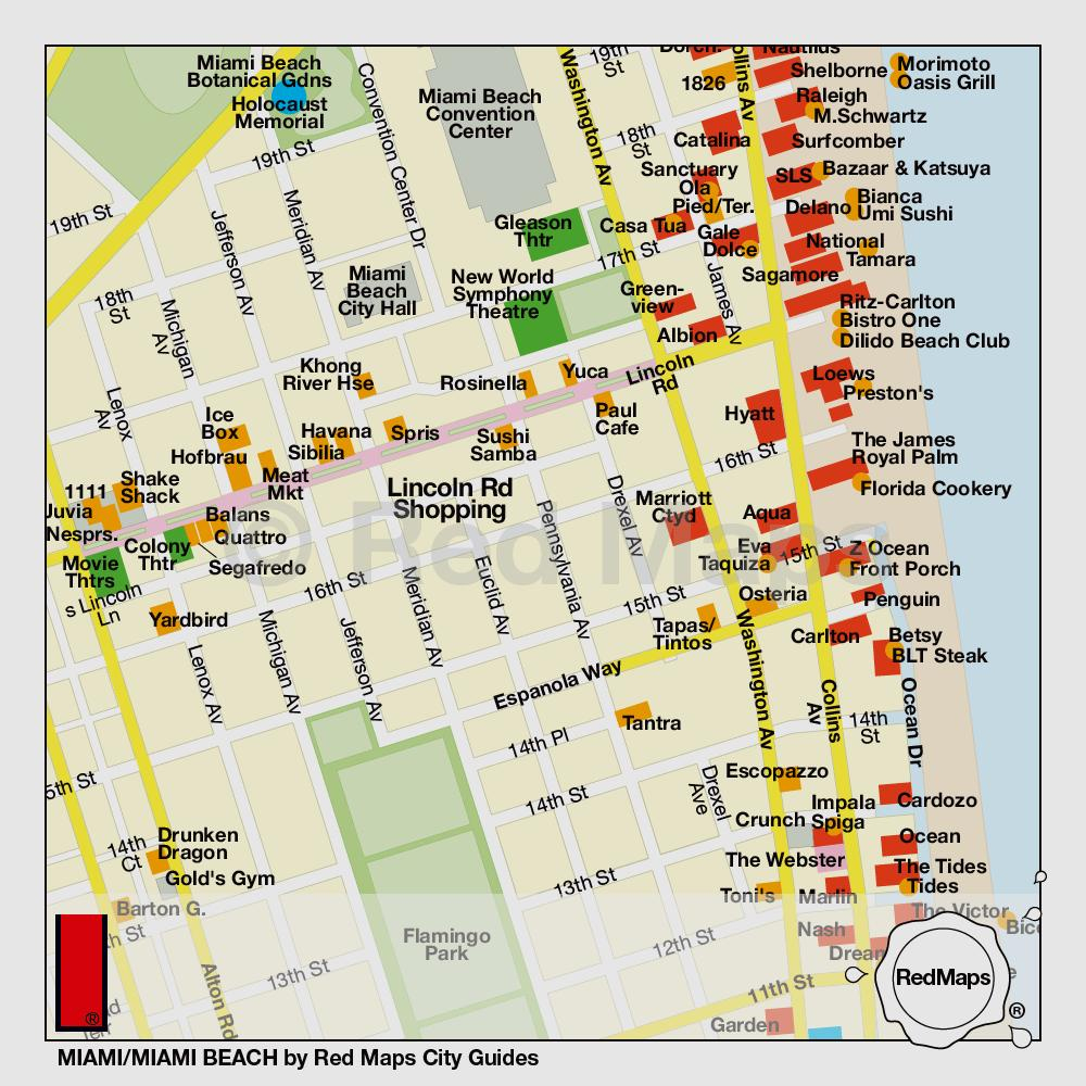 Hotels : In Miami South Beach Than Map Fresh Florida – Ny County - Map Of South Beach Miami Florida