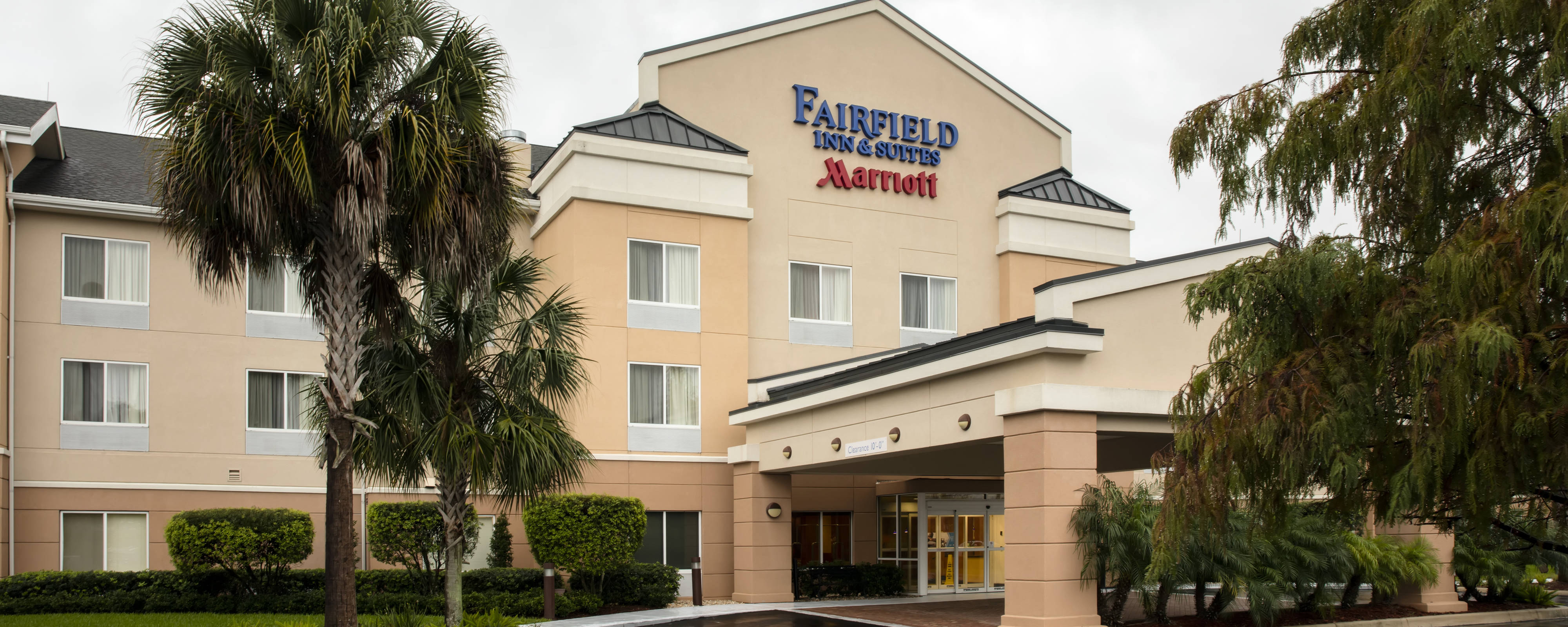 Hotels In Plant City, Fl | Fairfield Inn & Suites Lakeland Plant City - Lakeland Florida Hotels Map