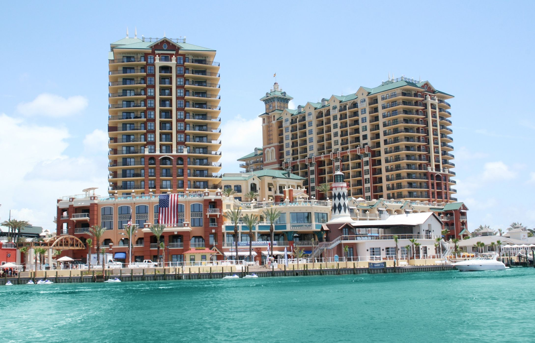 Hotels - Map Of Hotels In Destin Florida