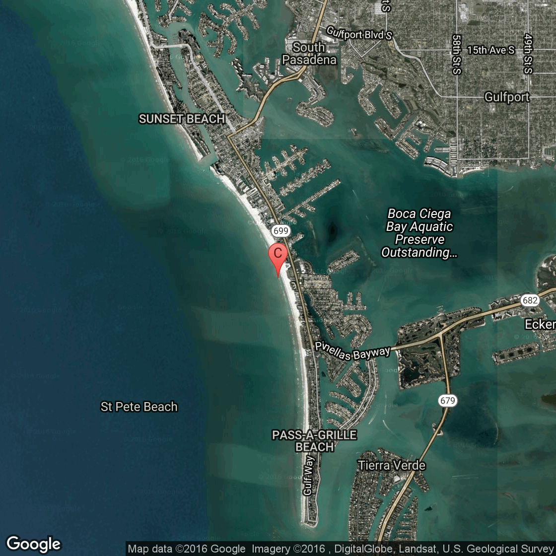 Hotels & Motels In St. Pete Beach, Florida | Usa Today - Google Maps St Pete Beach Florida
