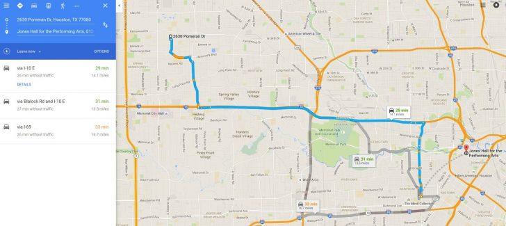Google Maps Houston Texas