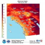 How Long Will Heat Wave Linger Over Southern California? – Orange   Southern California Heat Map
