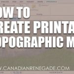 How To Create A Printable Topographic Map In Arcgis Pro   Youtube   How To Create A Printable Map