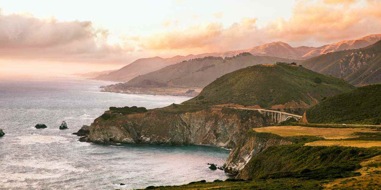 How To Drive California's Highway One - California Scenic Highway Map