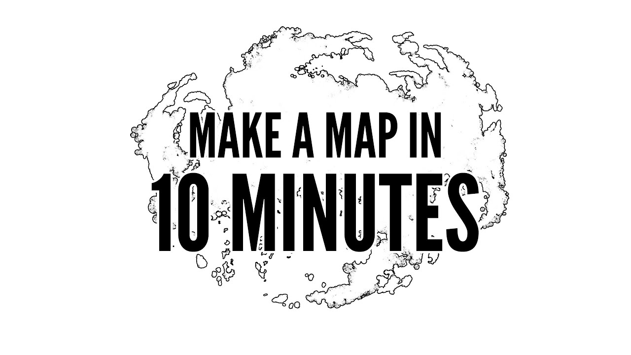 How To Easily Make A Map In 10 Minutes With Photoshop - Youtube - How To Make A Printable Map