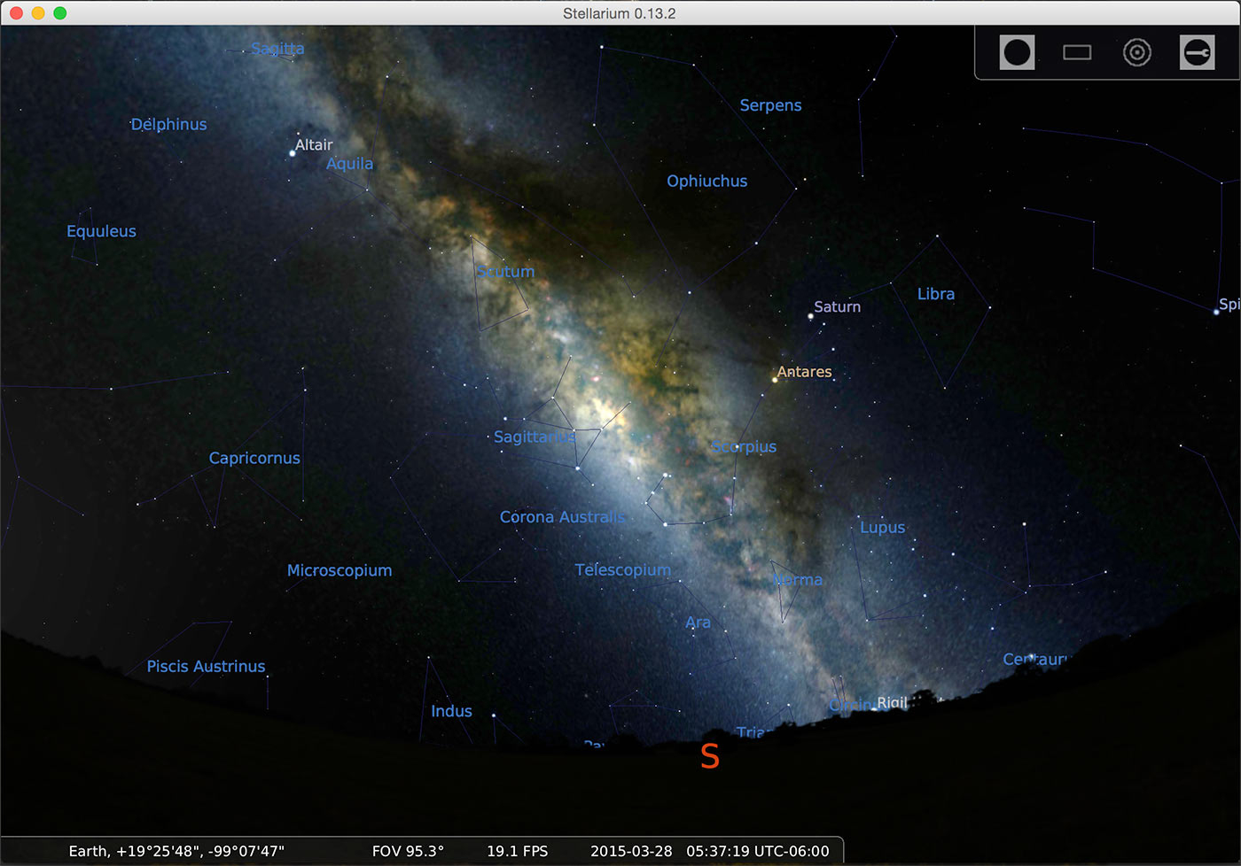 How To Find The Milky Way – Lonely Speck - Southern California Night Sky Map