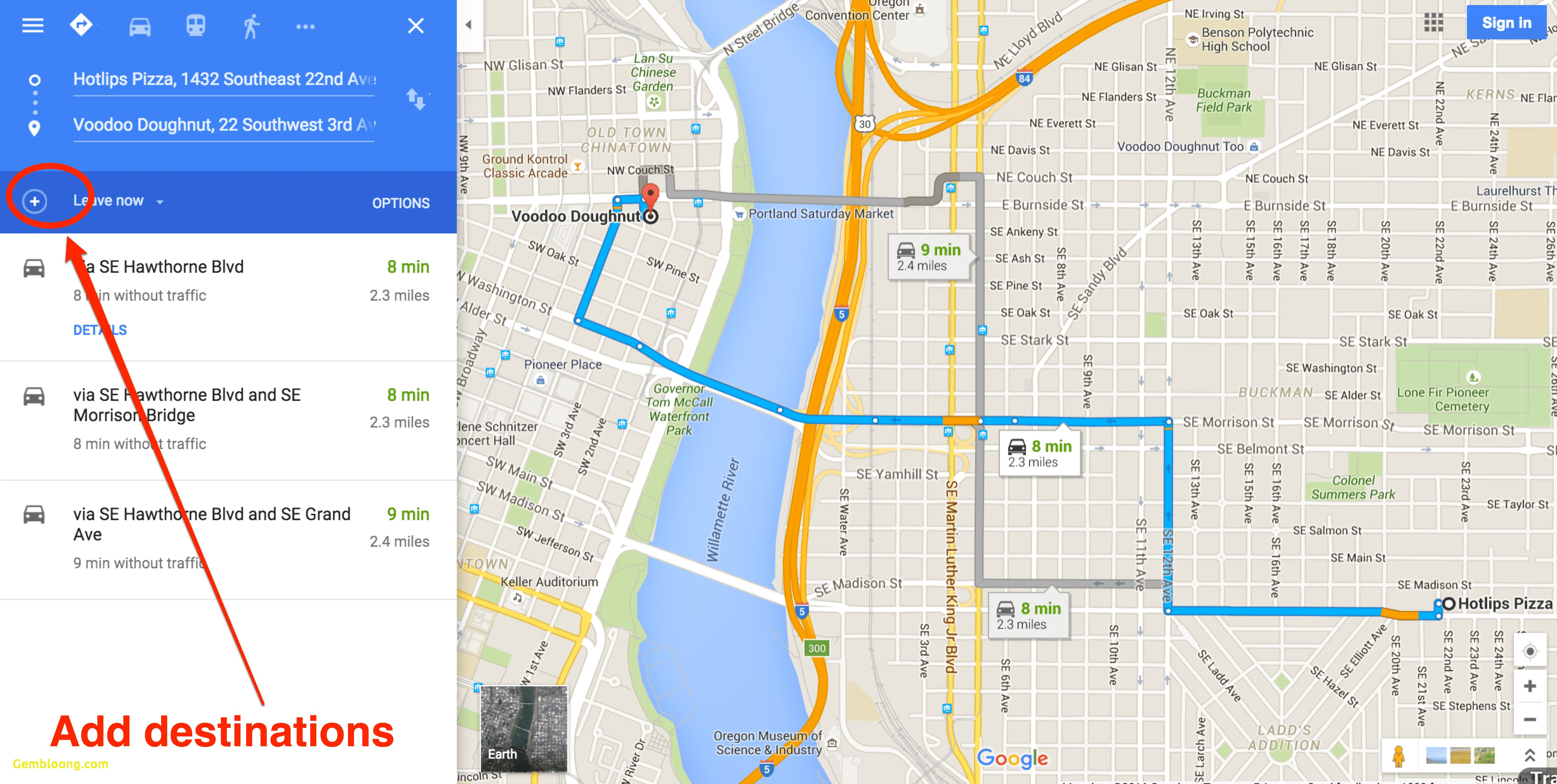 How To Get Driving Directions And More From Google Maps Image Of Map - California Traffic Conditions Map