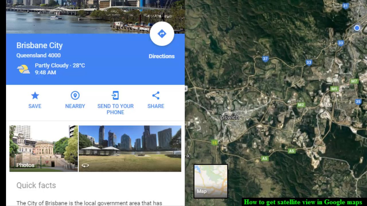 How To Get Satellite View In Google Maps - Youtube - Google Maps Satellite Texas