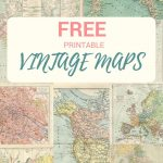 How To Make Simple But Beautiful Map Roses | Paper Things   How To Create A Printable Map