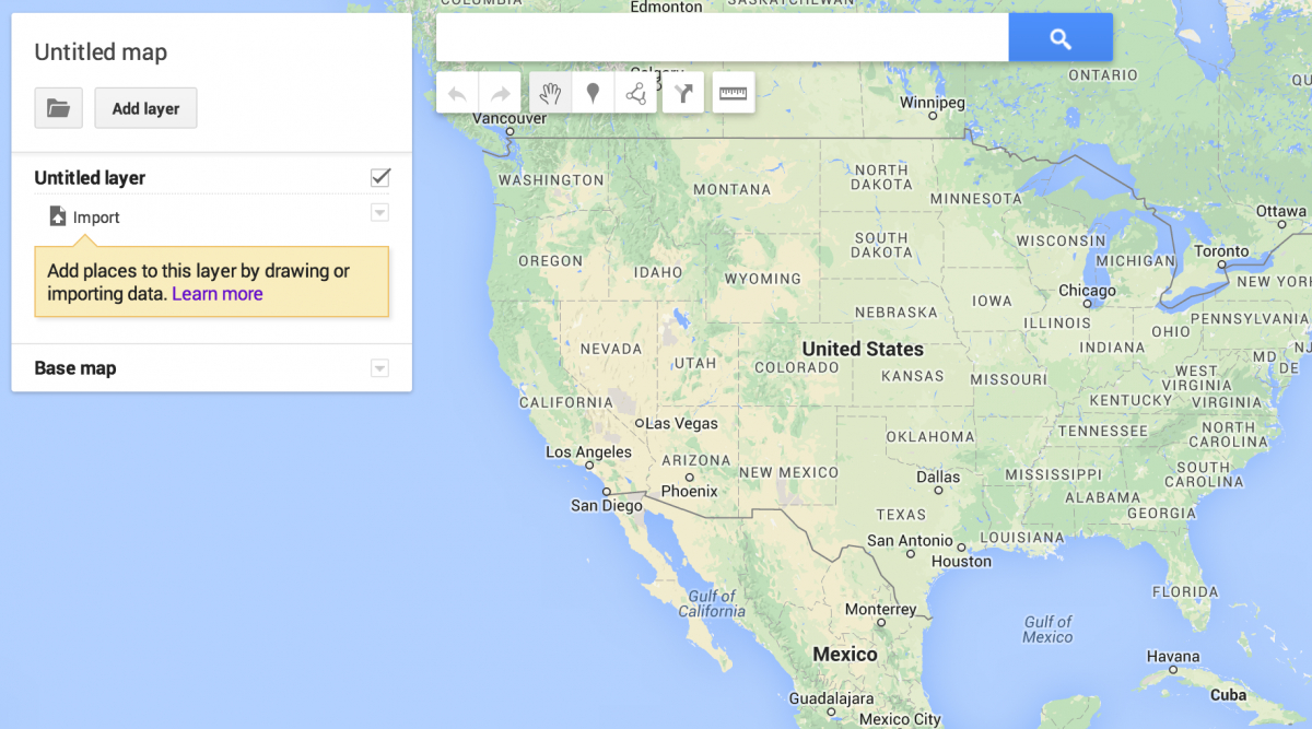 How To Map With Google My Maps - Storybench - Google Maps San Antonio Texas