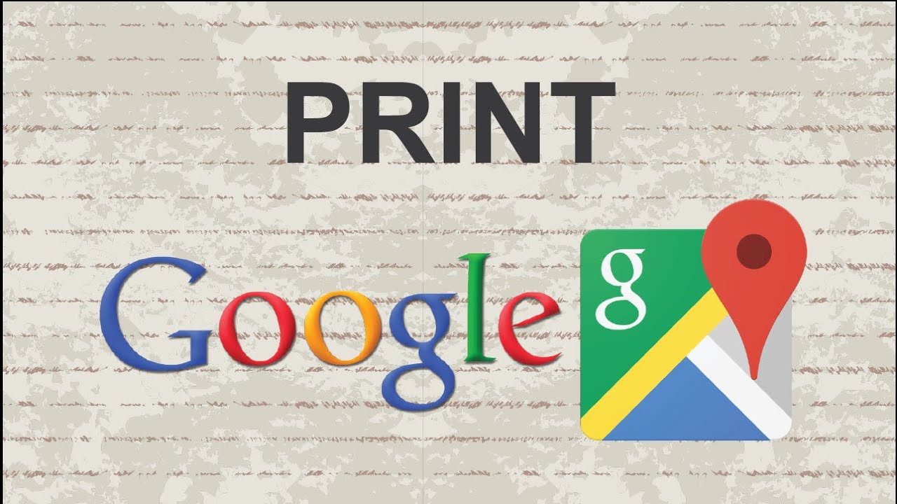 How To Print Google Maps - Youtube - Printable Google Maps