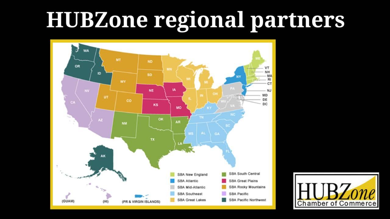 Hubzone Resourcesregion - Hubzone Map California