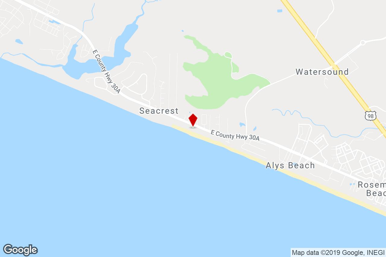 Hway 30-A East, Seacrest, Fl, 32413 - Residential (Land) Property - Sea Crest Florida Map