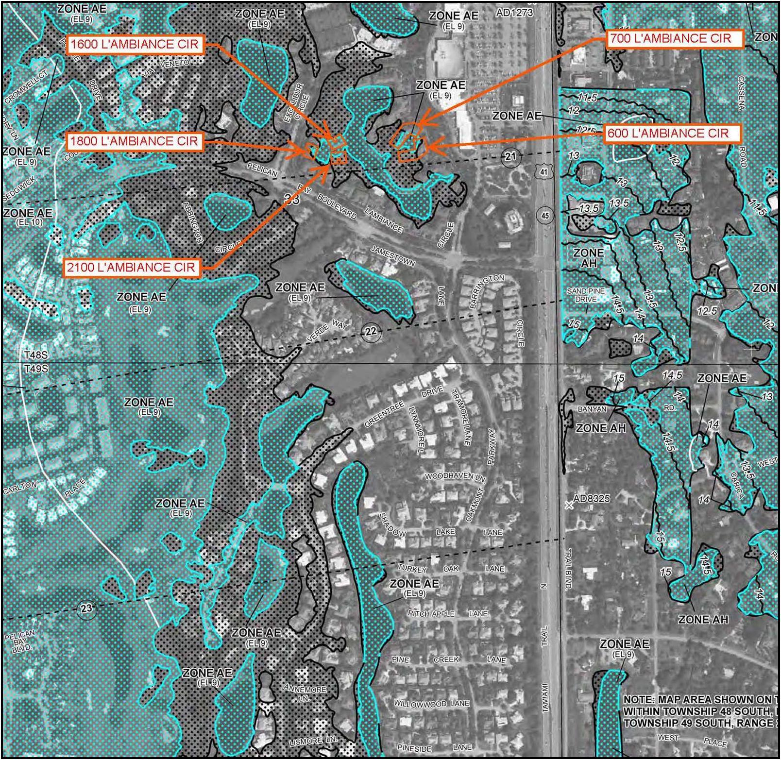 Hydrologic Analysis Southwest Florida Naples Fort Myers - Naples Florida Flood Zone Map