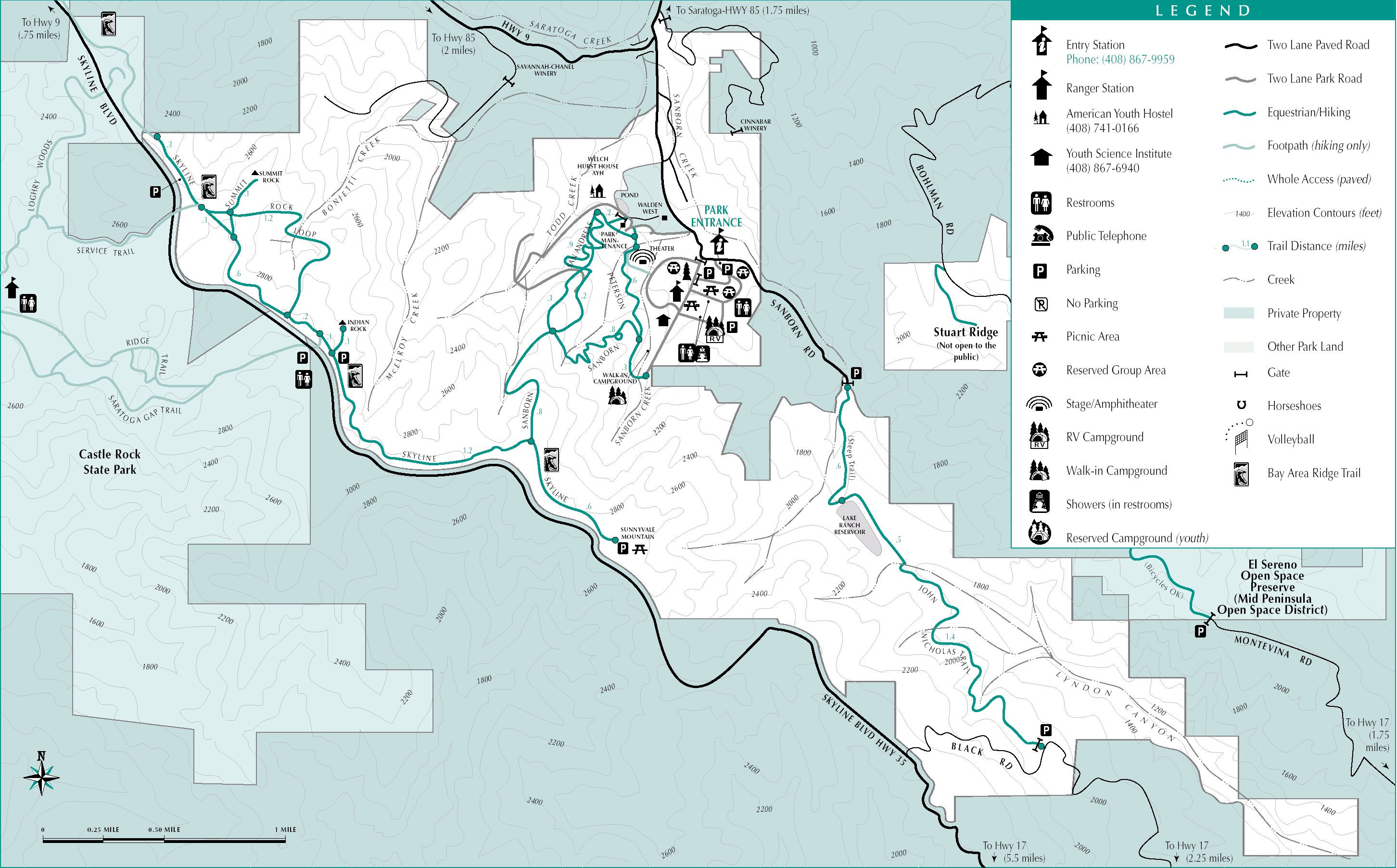 I 5 Rest Areas California Map Free Printable Expertgps Calibrated - California Rest Stops Map