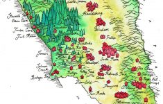 I Illustrated A Map Of My Home County Of Sonoma, California :) [1245 – Map Of Sonoma California Area