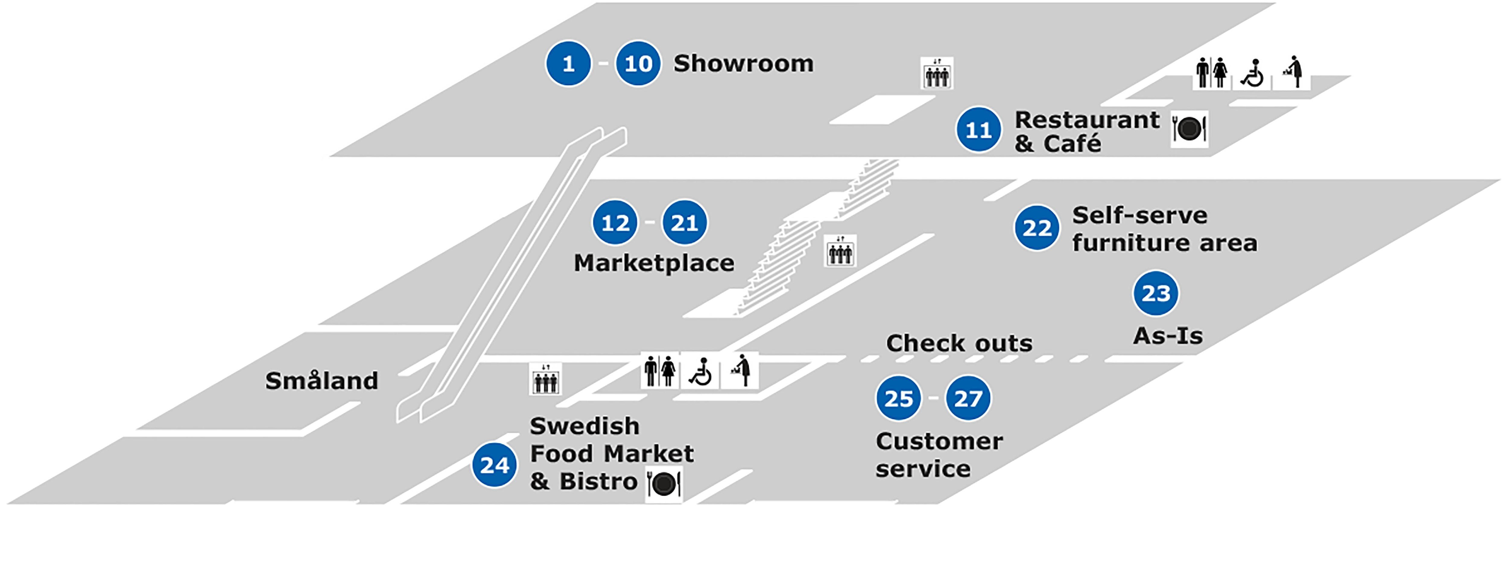 Ikea Burbank Home Furnishings - Ikea - Ikea Locations California Map