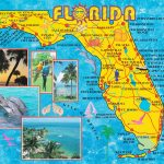 Illustrated Tourist Map Of Florida   Florida Tourist Map
