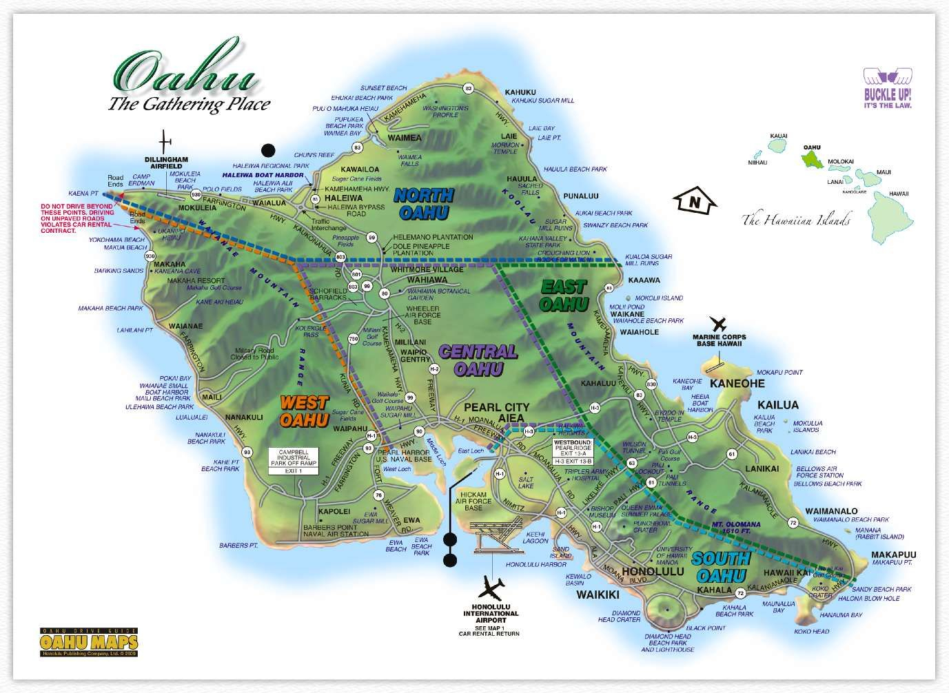 Image Result For Oahu Map Printable | Hawaii In 2019 | Oahu Map - Oahu Map Printable