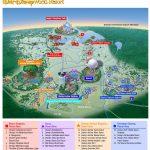 Images Of Disneyworld Map | Map Of Disney World Parks | A Traveling   Map Of Florida Showing Disney World