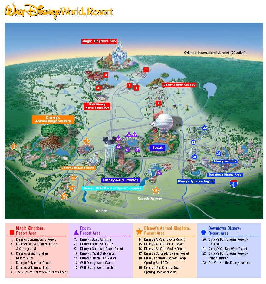 Images Of Disneyworld Map | Map Of Disney World Parks | A Traveling - Map Of Florida Showing Disney World