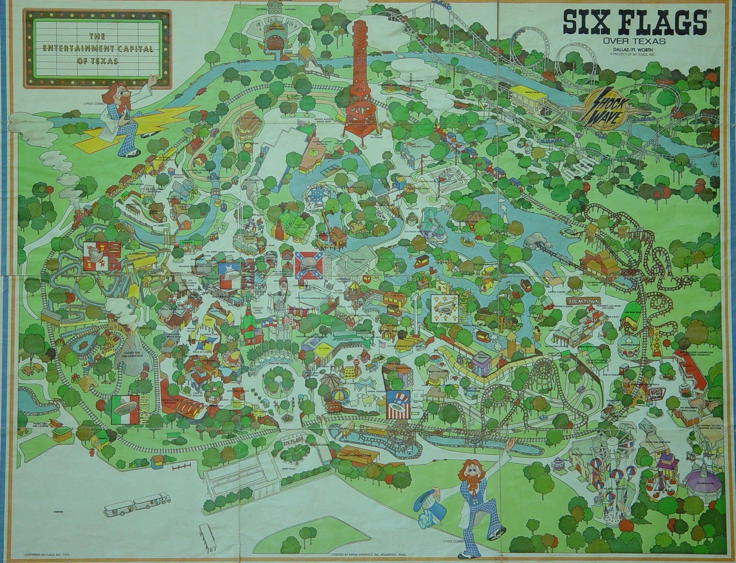 Img 0013 10 Six Flags Over Texas Map | Settoplinux - Six Flags Over Texas Map App