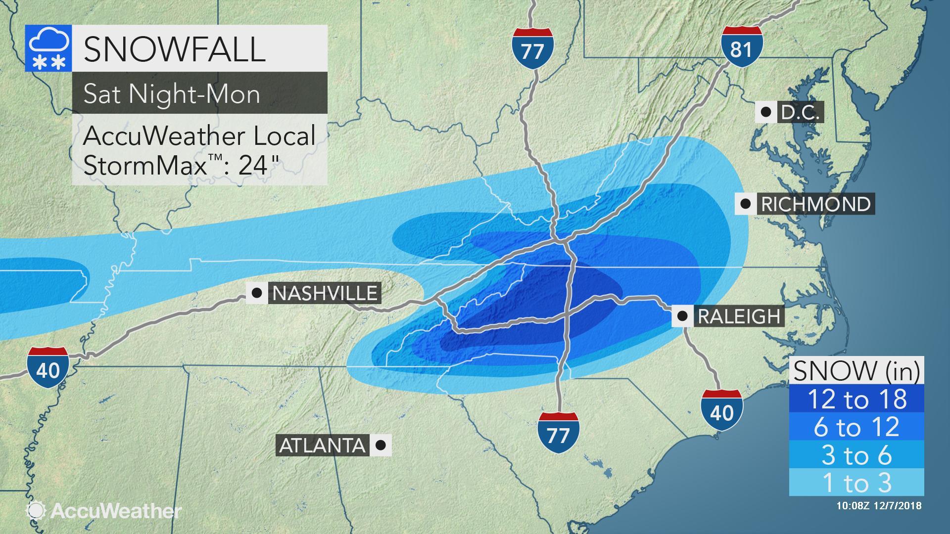 Immobilizing Storm To Bury Carolinas, Southern Virginia In Snow And Ice - South Florida Radar Map