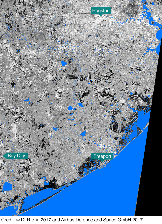 In Maps: Houston And Texas Flooding - Bbc News - Harris County Texas Flood Map