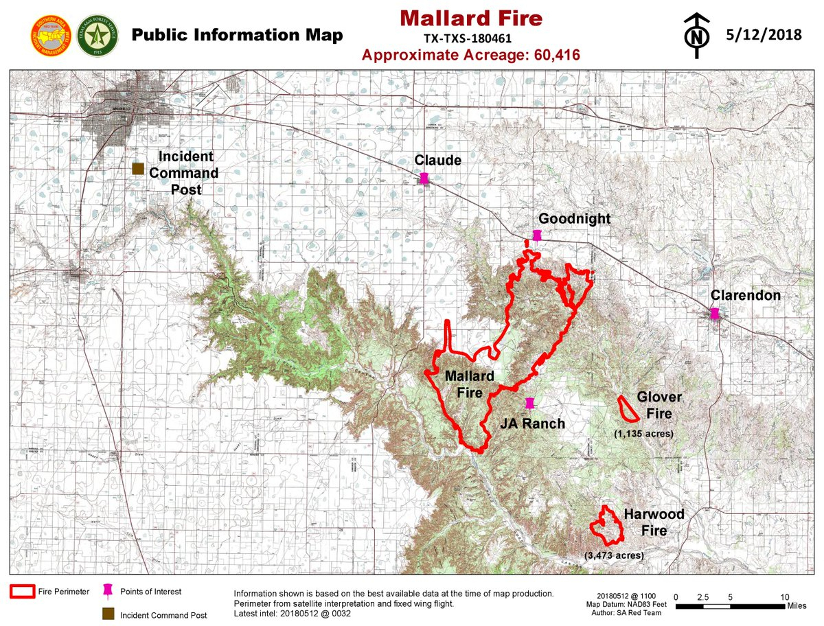 "Incident Information - Texas A&m Forest Service On Twitter: ""update - Texas Forestry Fire Map"