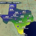 Increasing Snow Chances Forwest Texas?   Weathernation   Texas Weather Map Today