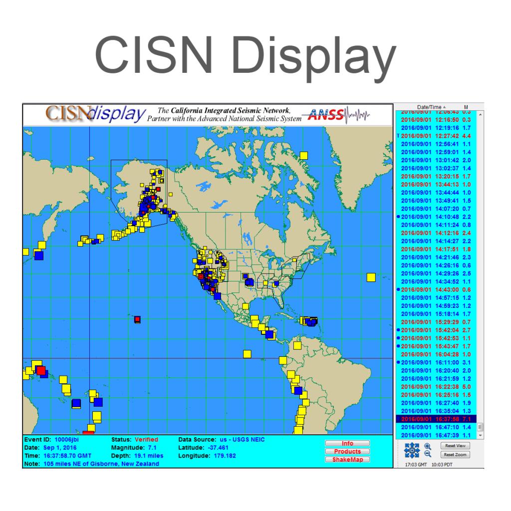 Index Map Of California Springs California Live Earthquake Map X - Earthquake California Index Map