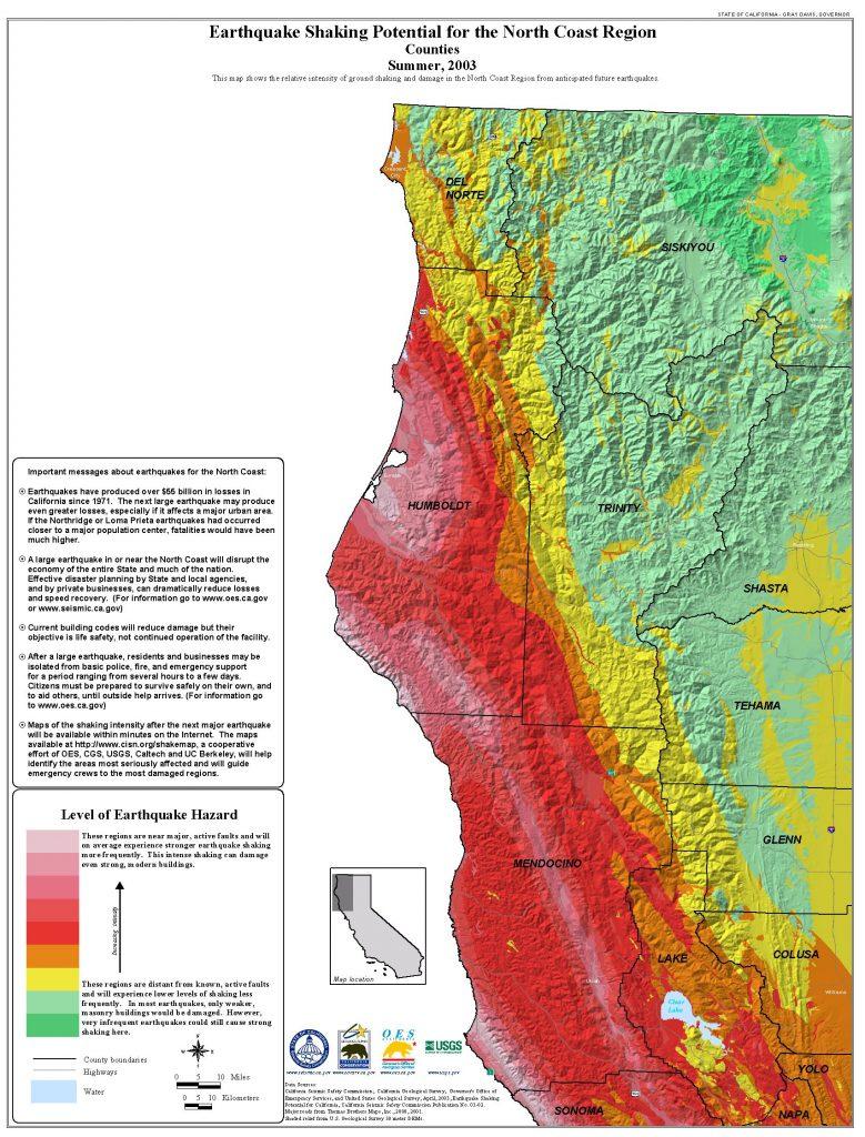 Index Maps Of California California Nevada Earthquake Index Map Road - Earthquake California Index Map