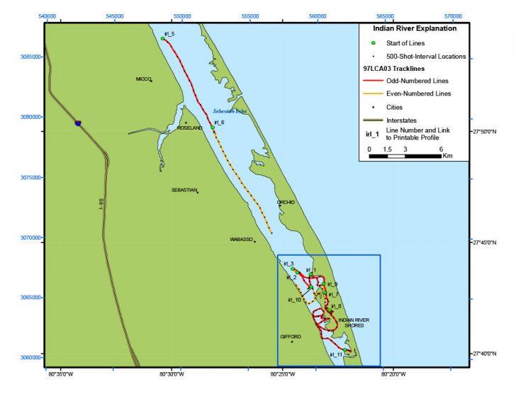Sebastian Florida Map