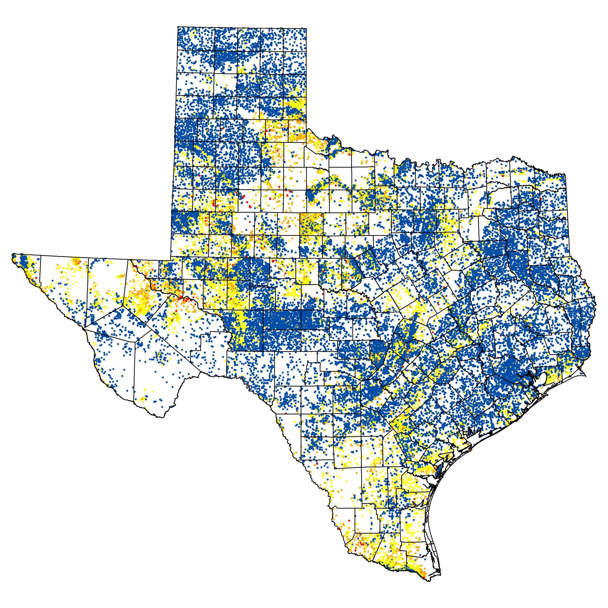 Innovative Water Technologies - Bracs | Texas Water Development Board - Texas Water Well Map