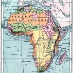 Instant Art Printable   Vintage Map Of Africa   The Graphics Fairy   Printable Antique Maps