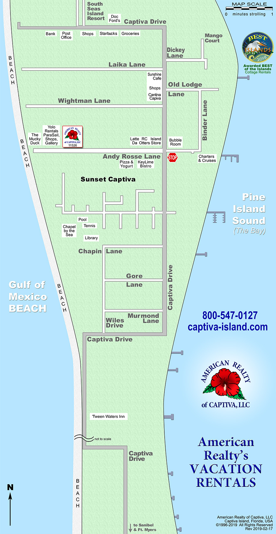 Interactive Map: Captiva, Florida (Amrc) - Captiva Florida Map