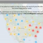 Interactive Tick Borne Illness Map | Discovermagazine   Lyme Disease In Florida Map