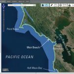 Interactive Tool For Assessing Climate-Change Impacts Along The – California Sea Level Map