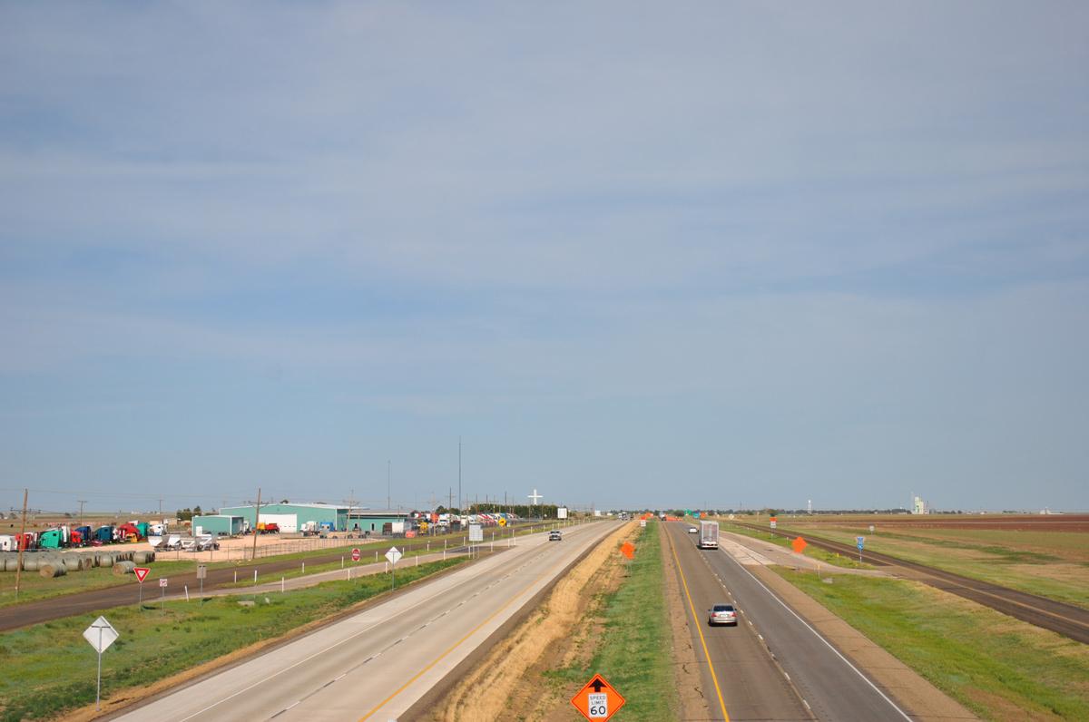 Interstate 40 - Aaroads - Texas Highways - Map Of I 40 In Texas