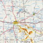 Interstate 40   Aaroads   Texas Highways   Map Of I 40 In Texas