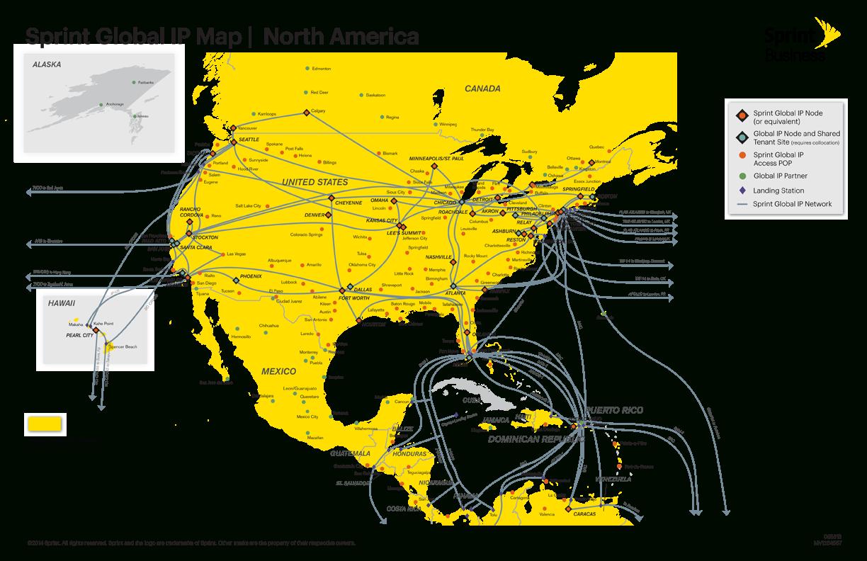 Intertubes: A Study Of The Us Long-Haul Fiber-Optic Infrastructure - Texas Fiber Optic Map