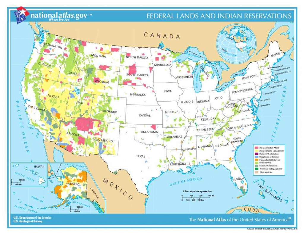 Intro To Federal Public Lands In The U.s. - California Public Lands Map