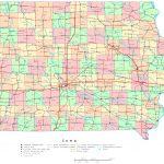 Iowa Printable Map   Printable Map Of Iowa
