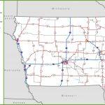 Iowa Road Map   Printable Map Of Iowa