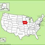 Iowa State Maps | Usa | Maps Of Iowa (Ia)   Printable Map Of Iowa