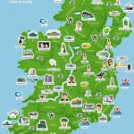 Ireland 101 – Map Of Ireland. Super Simplistic But Easy To Use At A – Printable Map Of Ireland And Scotland