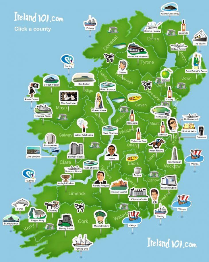 Printable Map Of Ireland And Scotland