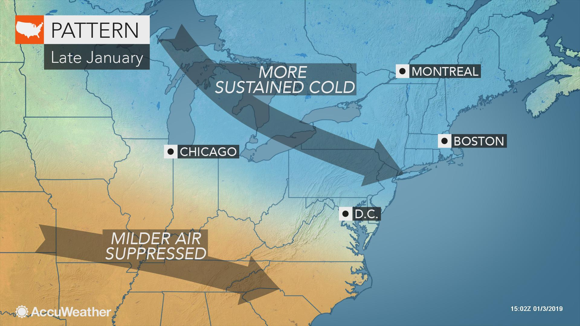 Is A Polar Vortex Plunge In Store For Northeastern Us This Winter? - South Florida Weather Map